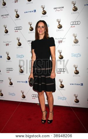 LOS ANGELES - SEP 21:  Sarah Paulson arrives at the Primetime Emmys Performers Nominee Reception at Spectra by Wolfgang Puck on September 21, 2012 in Los Angeles, CA