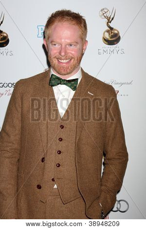 LOS ANGELES - SEP 21:  Jesse Tyler Ferguson arrives at the Primetime Emmys Performers Nominee Reception at Spectra by Wolfgang Puck on September 21, 2012 in Los Angeles, CA