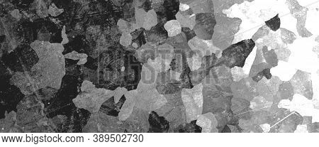 Black Army Background. Watercolour Camouflage Pattern. Military Textile. Grunge War Material. Army B