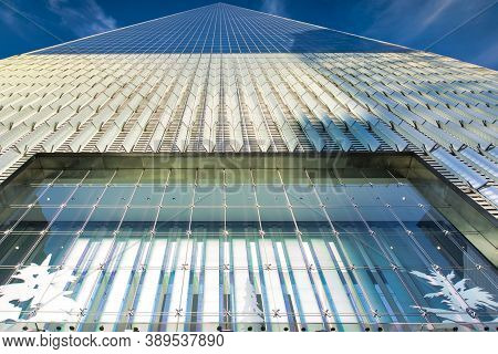 New York / Usa - November 26th 2019: Freedom Tower (one Wtc) In Downtown Manhattan. One Of The Talle