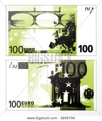 Hundred Euro Grunge Trace