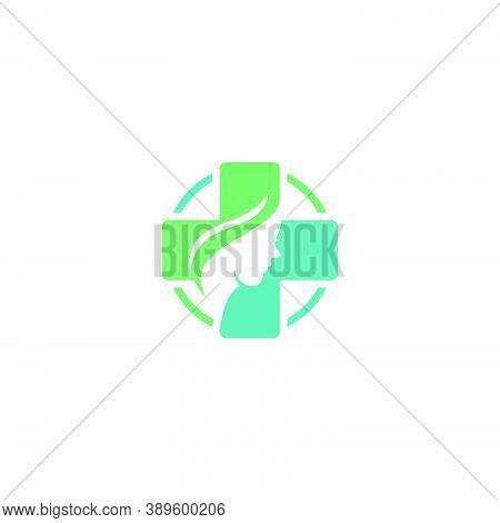 Health Care Vector Logo Template. Medical Health-care Logo Design Template.