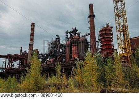 Blast Furnace Equipment Of The Metallurgical Plant