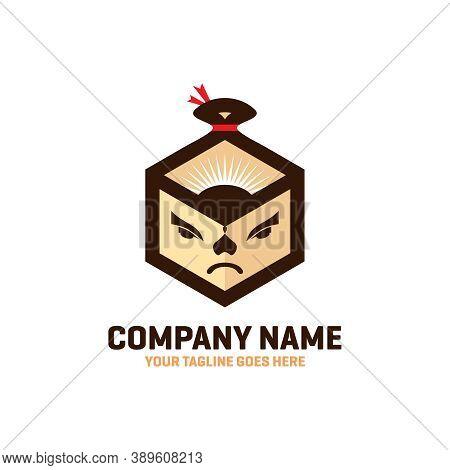 Modern Sumo Box Logo Design Your Company