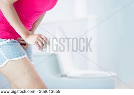 Sanitary Pad For Woman Hygiene Protection. Critical Days, Menstruation. Menstrual Woman Pad For Hygi