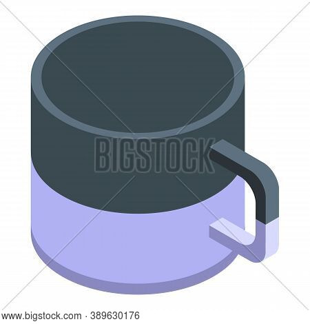 Drink Mug Icon. Isometric Of Drink Mug Vector Icon For Web Design Isolated On White Background