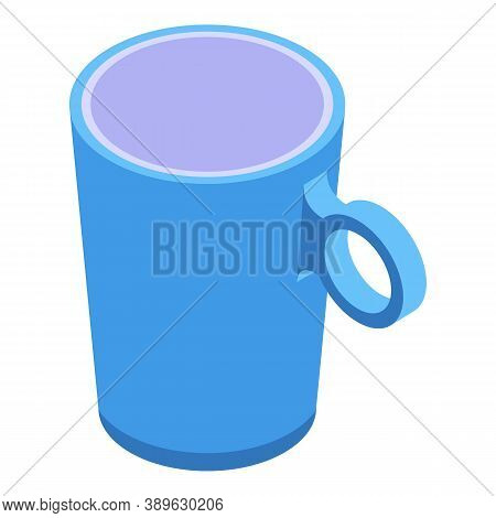 Pottery Mug Icon. Isometric Of Pottery Mug Vector Icon For Web Design Isolated On White Background