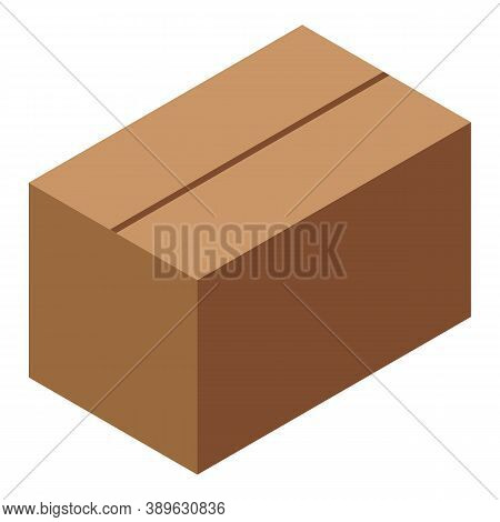 Import Parcel Icon. Isometric Of Import Parcel Vector Icon For Web Design Isolated On White Backgrou