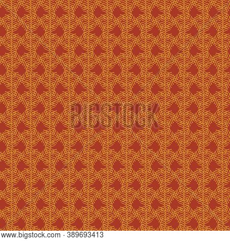 Rusty Colored Abstract Seamless Vector Pattern. Surface Pritn Design For Fabrics, Textiles, Statione