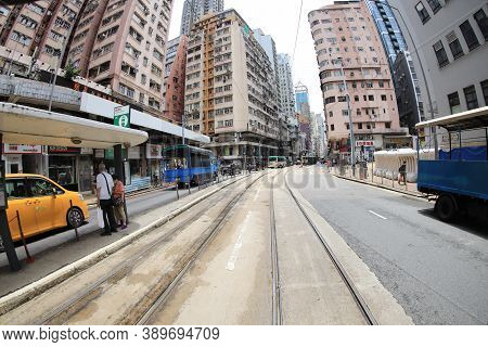 8 July 2020 Sai Ying Pun, The City View Of Office Buildings
