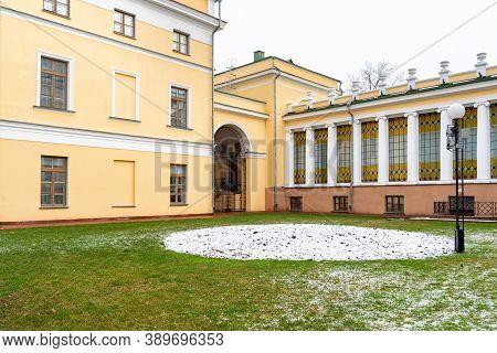 01 05 2020 Gomel, Republic Of . Gomel Palace And Park Ensemble