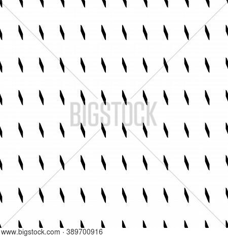Seamless Surface Pattern Design With Geometric Ornament. Ornamentation With Repeated Slanted Shapes.