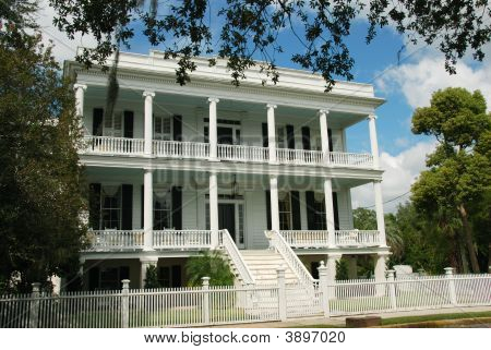 Lewis Reeve Sams House In Beaufort, South Carolina