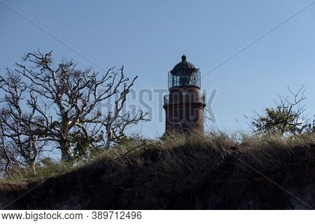 Lighthouse On Darsser Ort In Germany