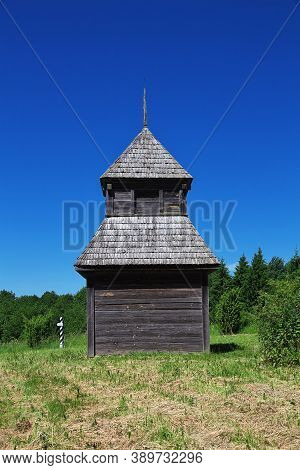 Ozertso Village In The Ethnographic Park, Belarus Country