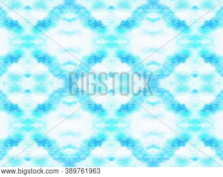 Seamless Zigzag Ikat Print. Ink Textured Fabric Print. Traditional Ethnic Zigzag Background. Ogee Or