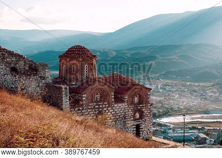St. Theodores Church In Berat Castle Albania