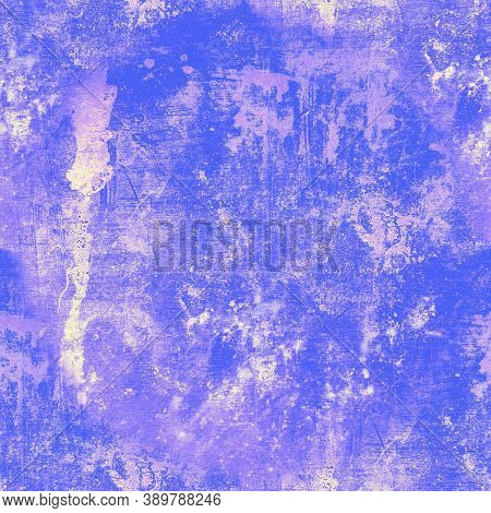 Grunge Background. Graphic Abstract Wallpaper. Aged Stone Surface. Paint Structure. Ancient Retro Br