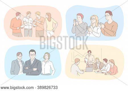Success, Business, Leadership, Coworking, Meeting, Partnership, Brainstorming, Communication, Teamwo