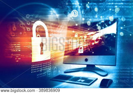 Technology Background. Cyber Technology Ai Tech Wire Network Futuristic Wireframe. Artificial Intell