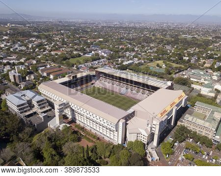 15 October 2020 - Cape Town, South Africa: Newlands Rugby Stadium In Cape Town, South Africa