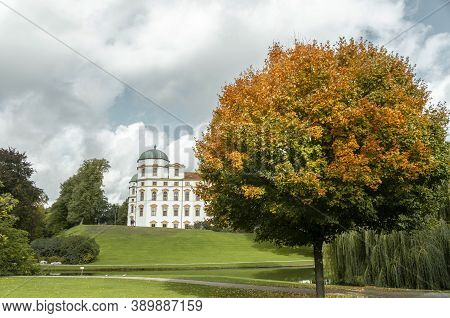 Celle, Niedersachsen / Germany -  October 2020: Beautiful Autumn Lower Saxony