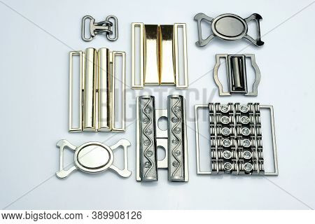 Detachable Buckle For Making Belts For Dresses, Skirts. Decorative Buckles For Swimwear. Metal Fitti