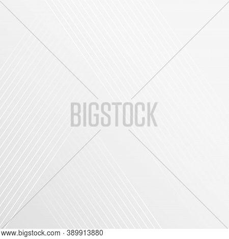 White Slanted Lines With Beige Shades Background - Illustration
