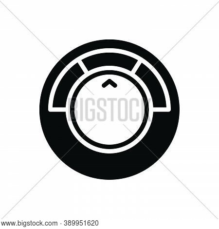 Black Solid Icon For Normal Generally Speed Circle Common In-a-general-way Usually Almost-always