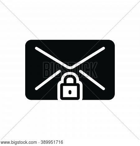 Black Solid Icon For Secret Clandestine Confidential Ulterior Esoteric Undisclosed Hush-hush Hidden