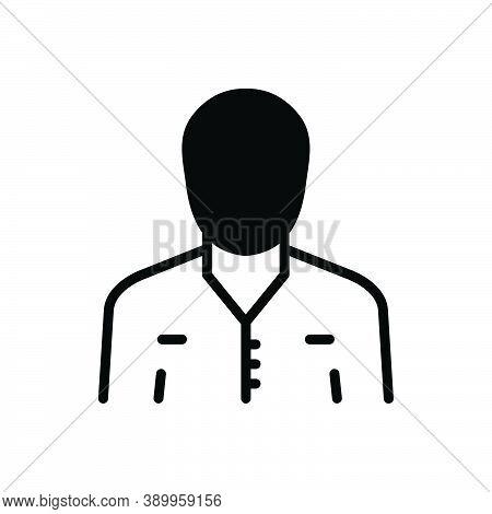 Black Solid Icon For Civilian Townsman Denizen Population Citizenry Townee Oppidan Citizen Civil Den