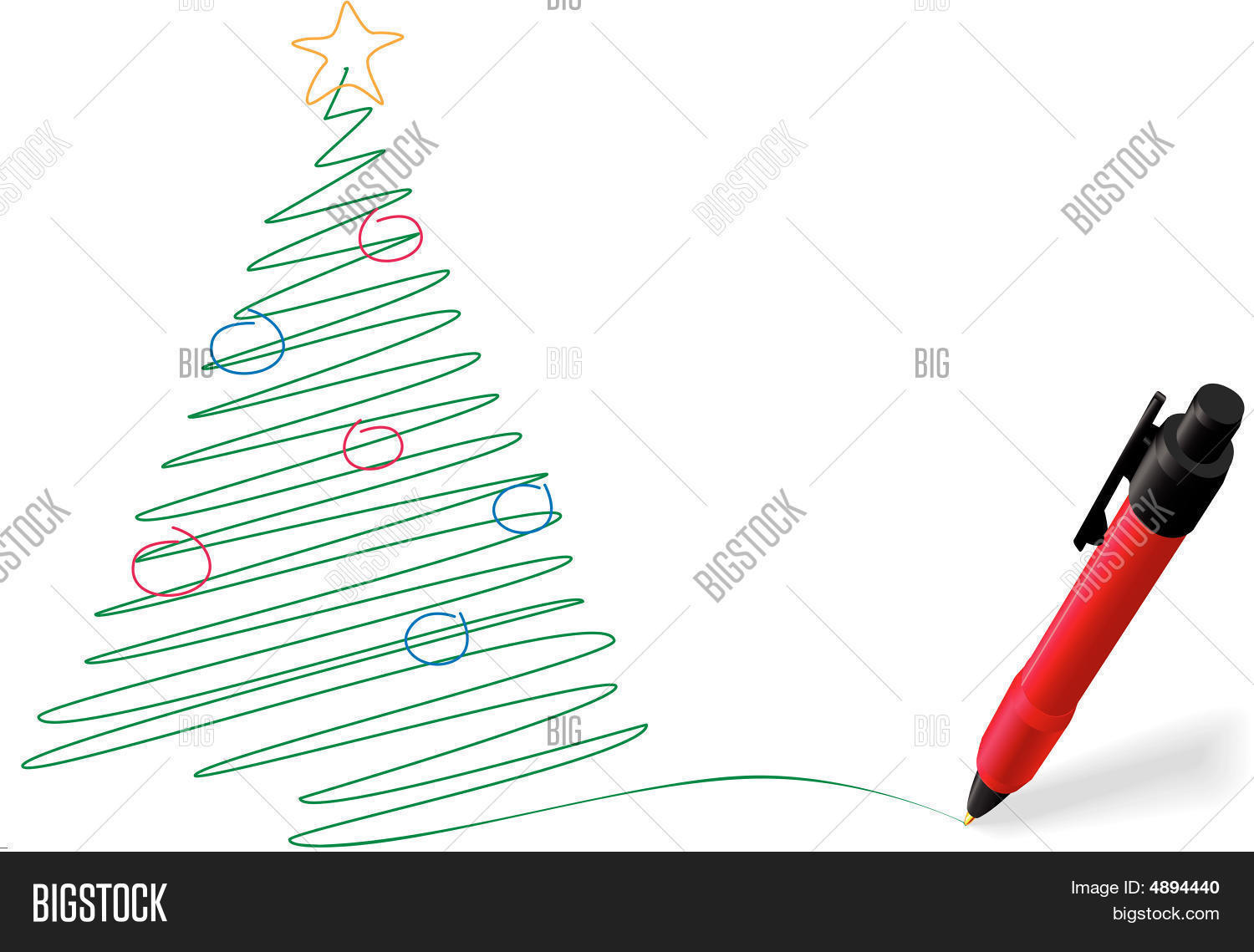Pen Ink Drawing Vector Photo Free Trial Bigstock