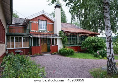 The home of Swedish artist Carl Larsson