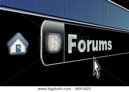 Internet Forums Concept