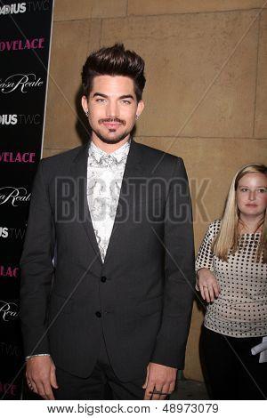 LOS ANGELES - AUG 5:  Adam Lambert arrives at the