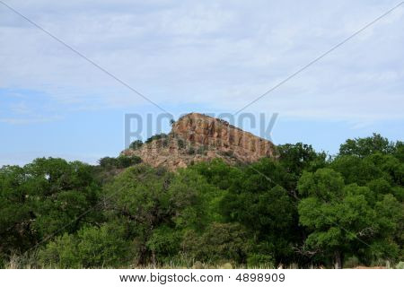 Landscape At Enchanted Rock Park
