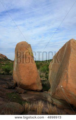 Boulders At Enchanted Rock Park