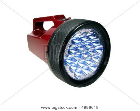 Plastic Lantern With Led