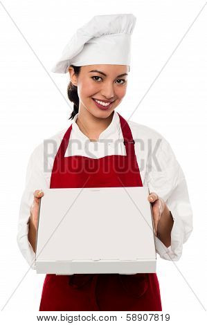 Here Is Your Order Sir.