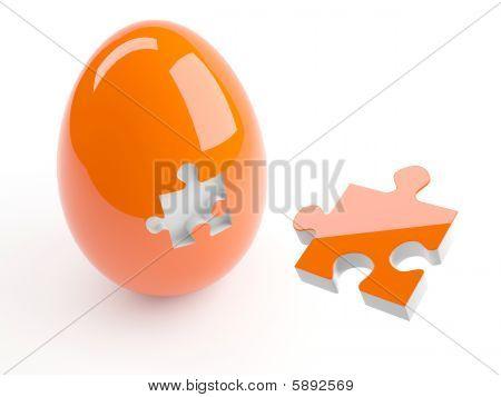 Jigsaw Puzzle Egg