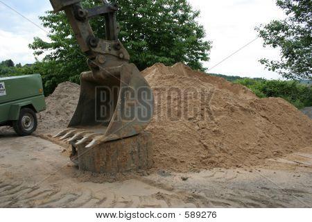 Heavy Hydraulic Shovel
