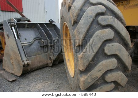 Tyre And Shovel
