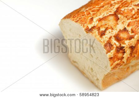 Loaf Of Bread With An End Sliced Off