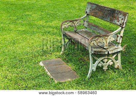 Chair On Green Grass