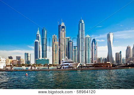 Dubai Skyscrapers, Uae