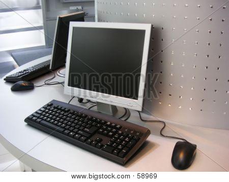 Computer W-LCD-Bildschirm