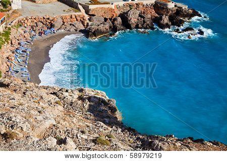 Beach In Chora Sfakion