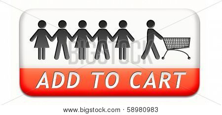 add tocart button or icon, buy at online web shop