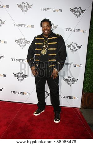 LOS ANGELES - JAN 23:  Busta Rhymes at the Annual Trans4m Benefit Concert at Avalon on January 23, 2014 in Los Angeles, CA