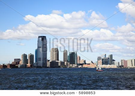 die Jersey City skylines